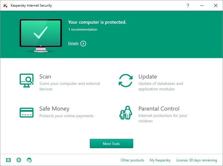 best antivirus kaspersky internet security installed 220616