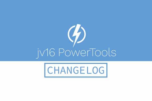 jv16 PowerTools 2017 Update Released – Version 4.1.0.1728