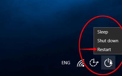 Safe mode on Windows 10 - Options Menu
