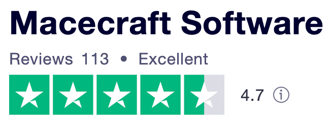 jv16Powertools Trustpilot rating Macecraft Software