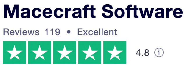 Trustpilot review macecraft software