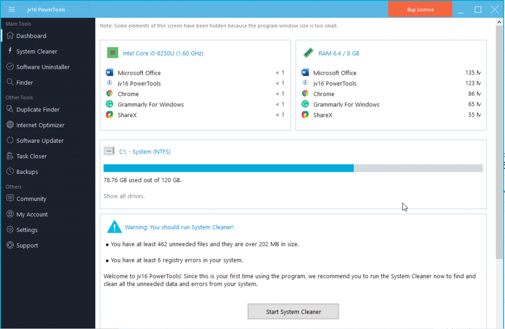 uninstall programs on windows 10 system cleaner