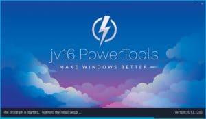 jv16 version 6.1.0.1203 Initial setup