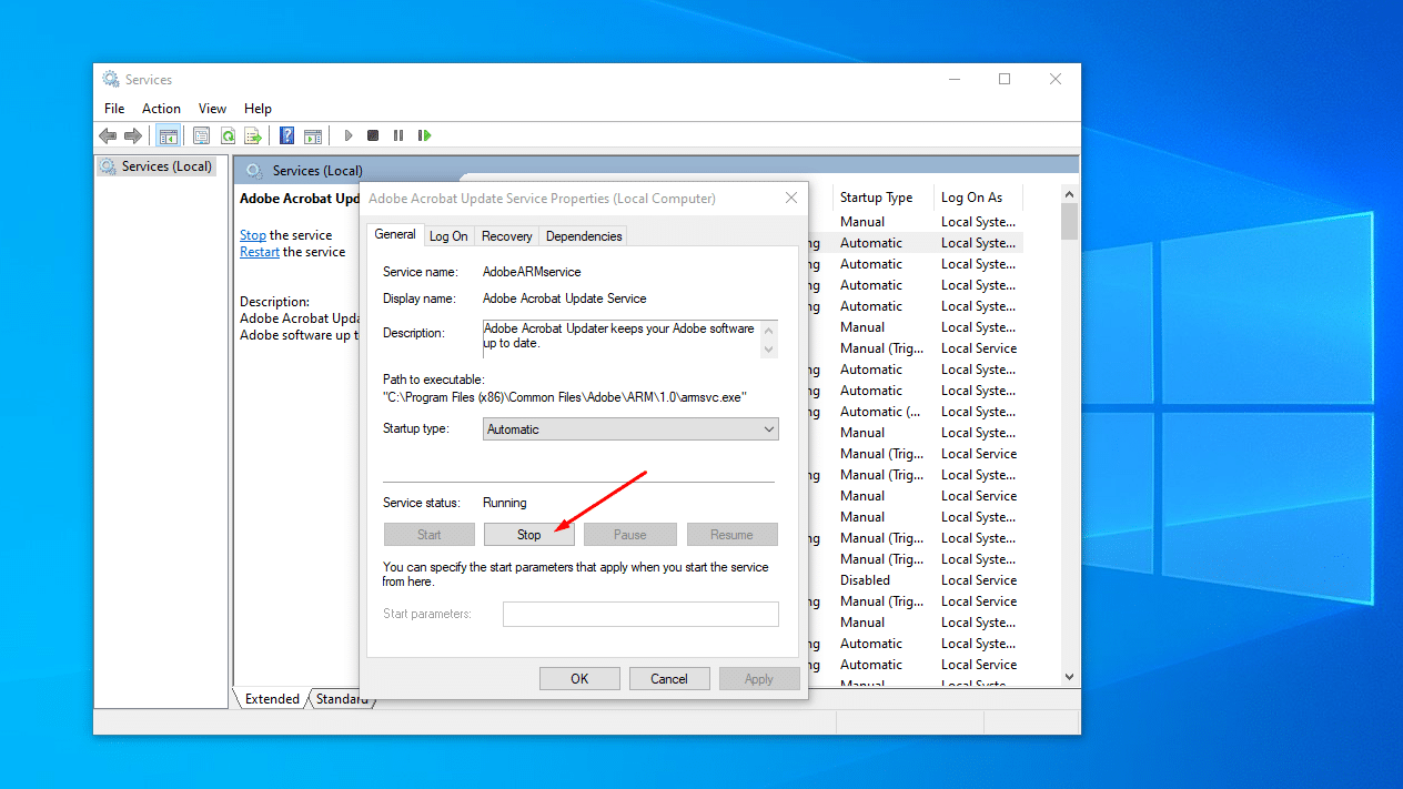 stop windows services safe to disable