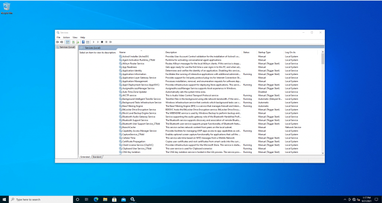windows services safe to disable